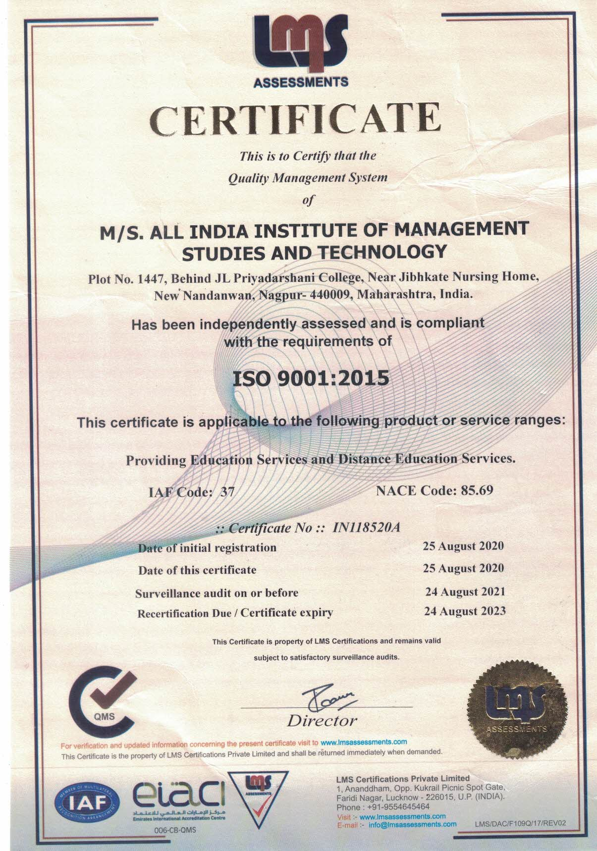 All India Institute Of Management Studies & Technology | Home